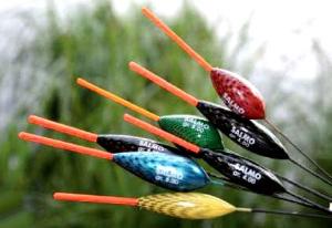 Поплавки для ловли на течении