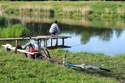 Самым подходящим временем для рыбалки весной считается май