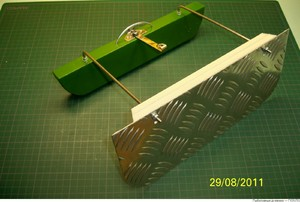 Как сделать рыбатский кораблик