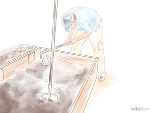 Замена почвы в емкости для вазведения