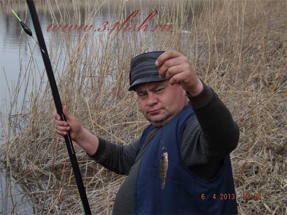 Последний, пойманный матросик, на этой рыбалке