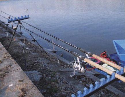 Озерная рыбалка с матчевой удочкой