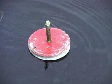 Круг для рыбалки своими руками