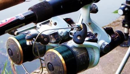 При матчевой ловле, в основном, используют катушки с вместительными шпулями