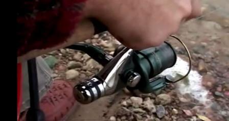 Отличительной особенностью матчевой катушки, является размещение фрикционного тормоза сзади