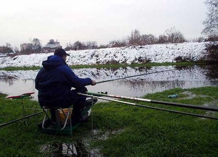 С маховым удилищем, рыбачить намного проще