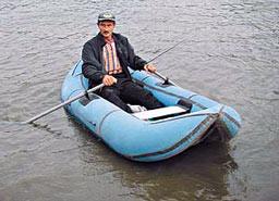 Лодки на реке, дает намного больше возможностей для рыболову