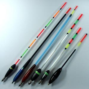 Поплавки отличаются друг от друга и размерами: от самых легких 0.8 г (2ВВ), до самых тяжелых 5.7 г (3SSG)