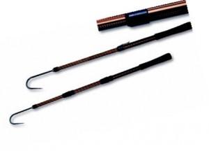 Багорик – устройство, предназначенное облегчать вытаскивание рыбы из воды во время ловли