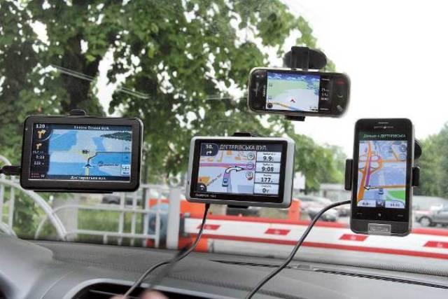 На рынке имеются автомобильные и туристические GPS-приборы. Первые предназначены, прежде всего, для ориентации на дорогах общего пользования