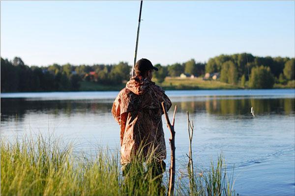 ловля язя весной на поплавочную удочку на озере