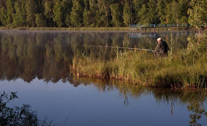 Чтобы получить хороший улов, охотиться на красноперку рекомендовано днем