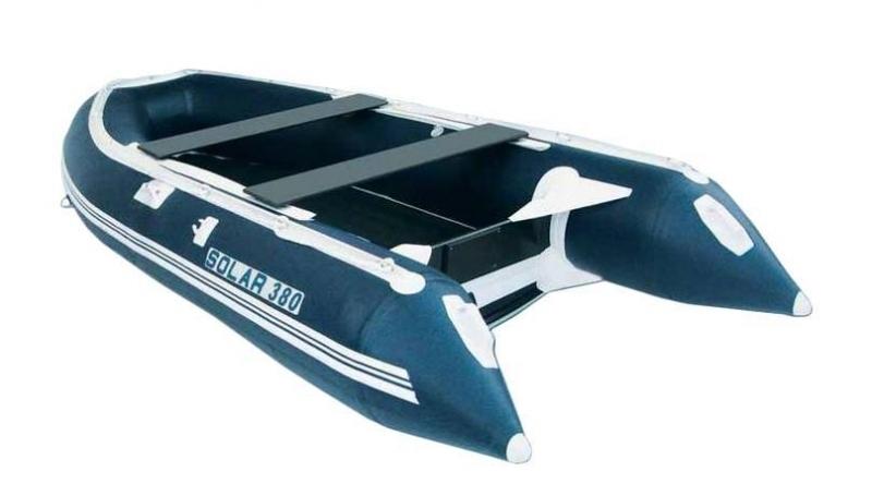 лодки пвх солар 380 под мотор каталог и цены