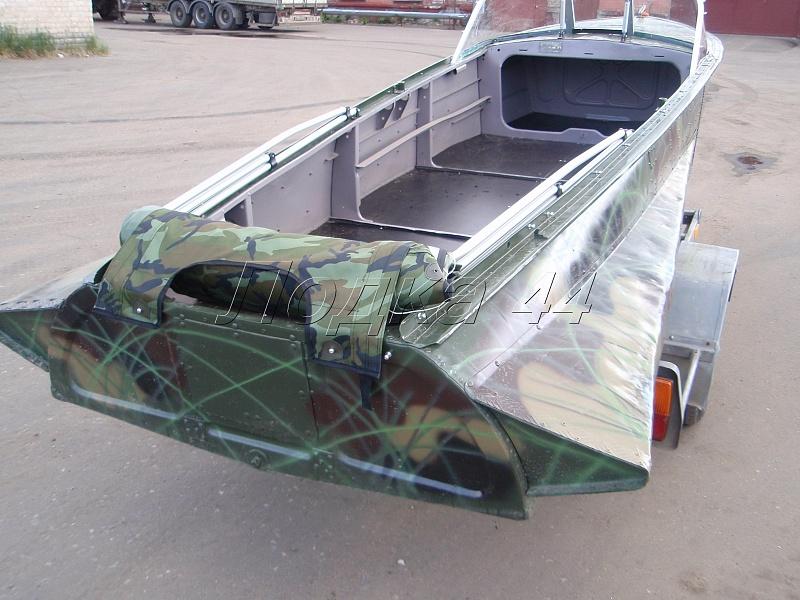 Ремонт и покраска лодки казанка своими руками 8