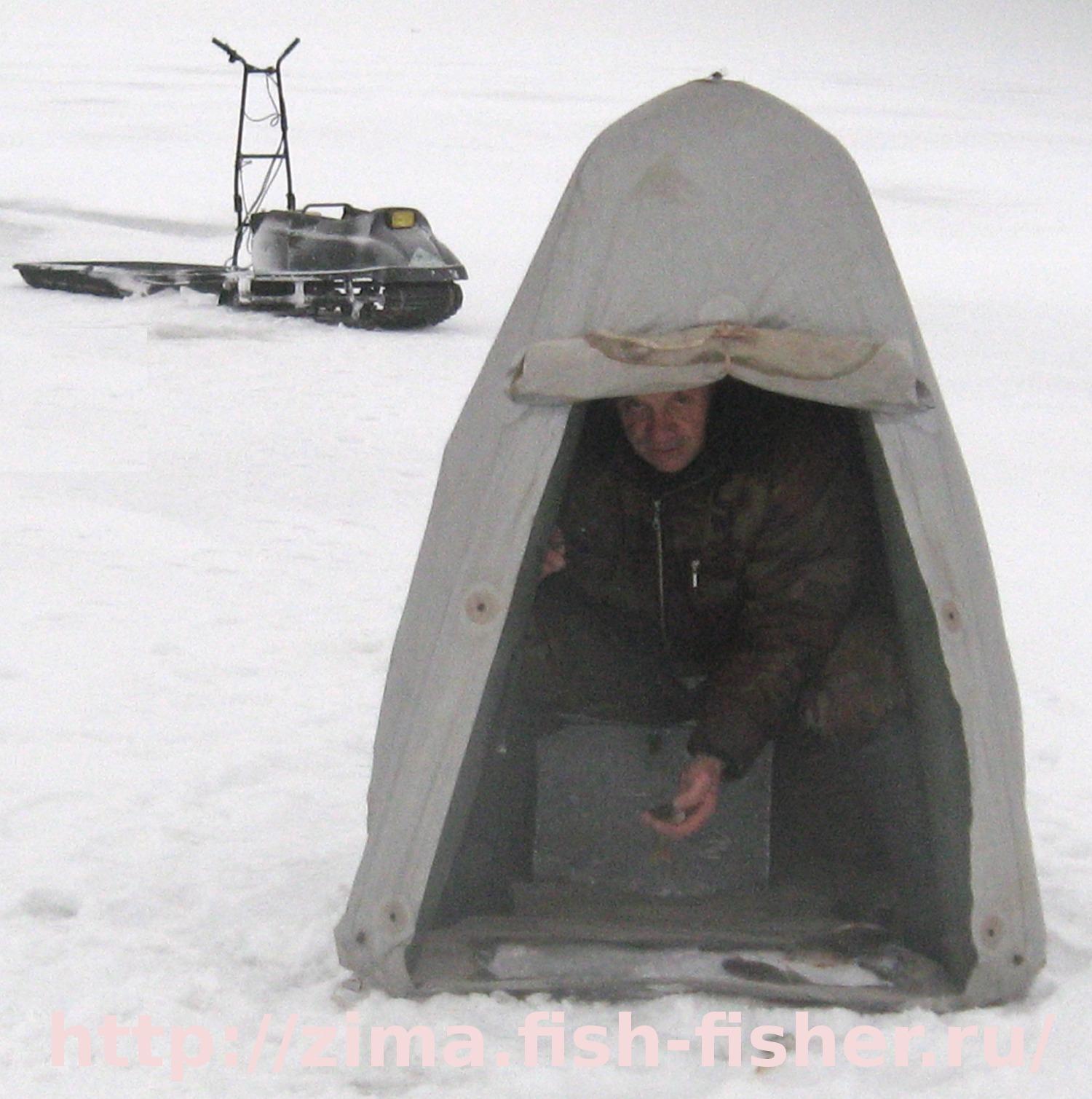 Мешок палатка для зимней рыбалки своими руками 7