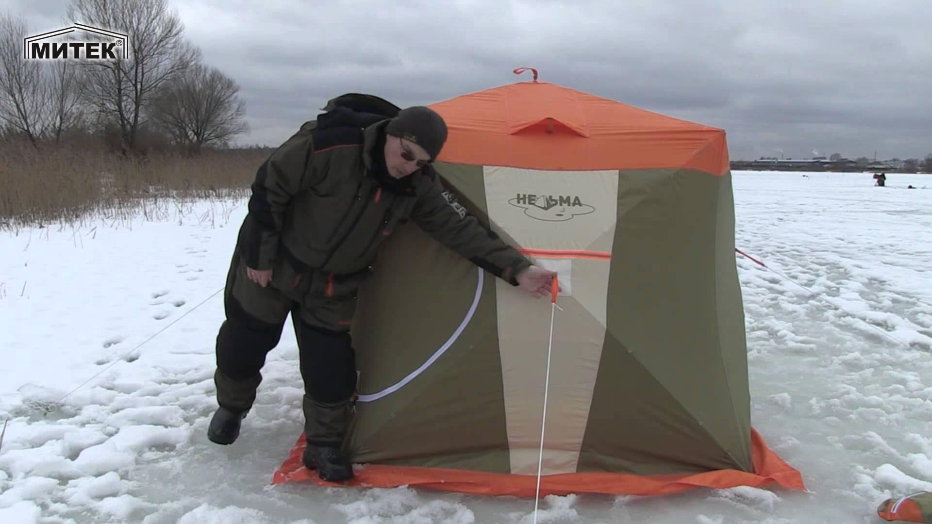 Теплый пол в зимнюю палатку своими руками