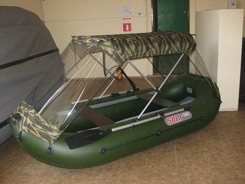 Тент для лодки ПВХ своими руками: материал, фурнитура 7