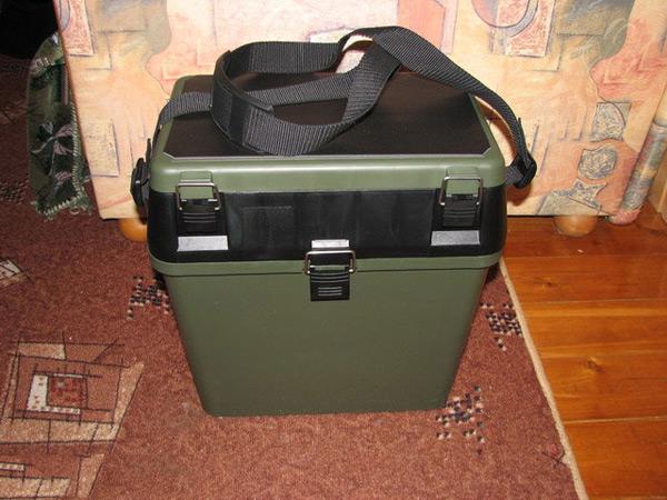Рыболовный чемодан своими руками 96