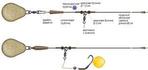 Оснастка для фидера : вертолет - схема изделия