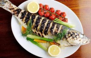 Двойная польза и вкус - сибас с овощами