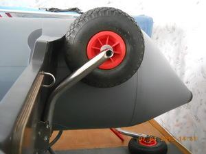Как самим сделать транцевые колеса