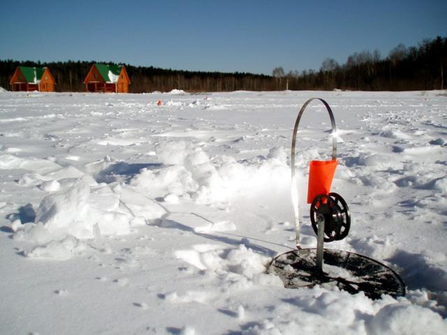 Подледная ловля рыбы проходит на жерлицу. Никаких других приспособлений не требуется. Снасть наматывают на мотовильце. Затем его закрепляют прямо на льду