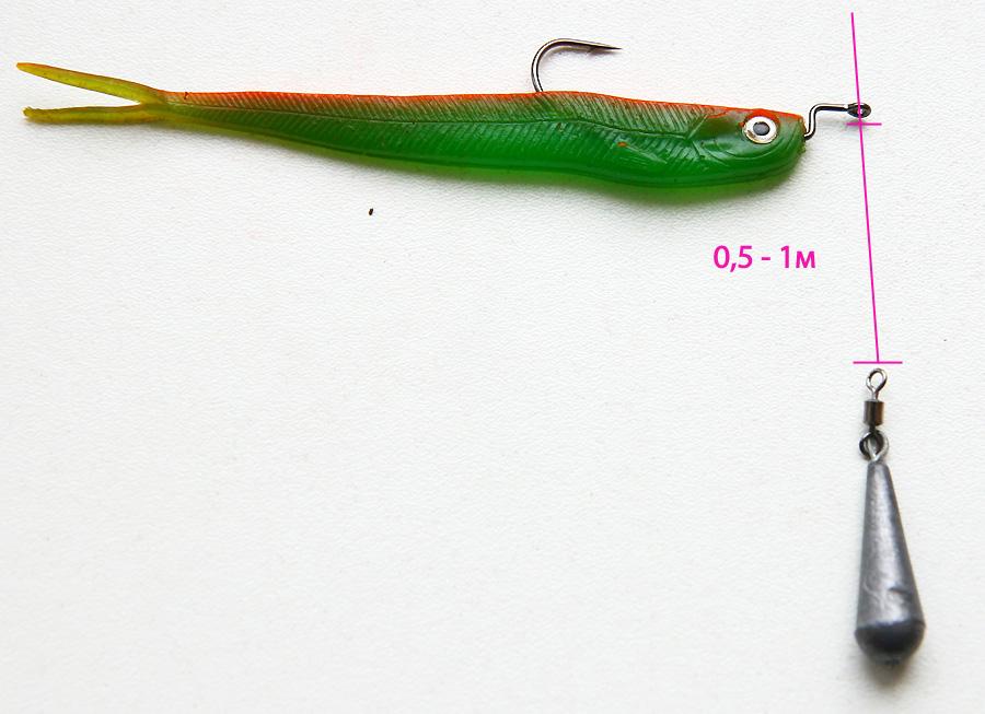 Дроп-шот оснастка на щуку
