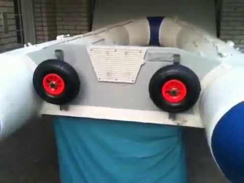 Транцевые колеса для лодок пвх своими руками чертеж