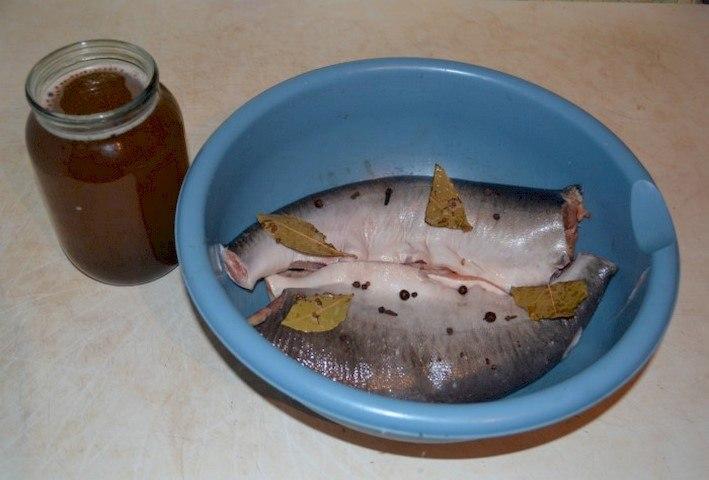 Засолка целой рыбы